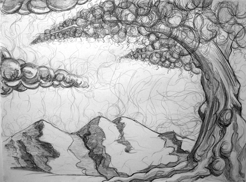 Valley of the Dolls - Tree Study