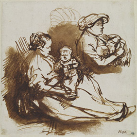 Drawings of Rembrant