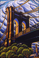 Bascove Brooklyn Bridge